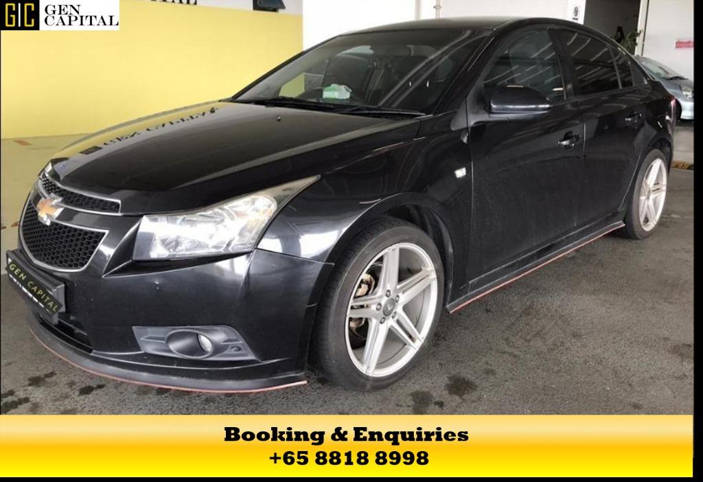 Chevrolet Cruze -At 50% off Circuit Breaker Promo the best way to commute during the covid19 outbreak, chauffeur your family in a safe and comfortable way. Contact us at 8818 8998 today!