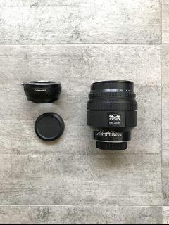 Helios 40-2 Version 2 85mm F1.5 Nikon Fuji Lens with Freebees