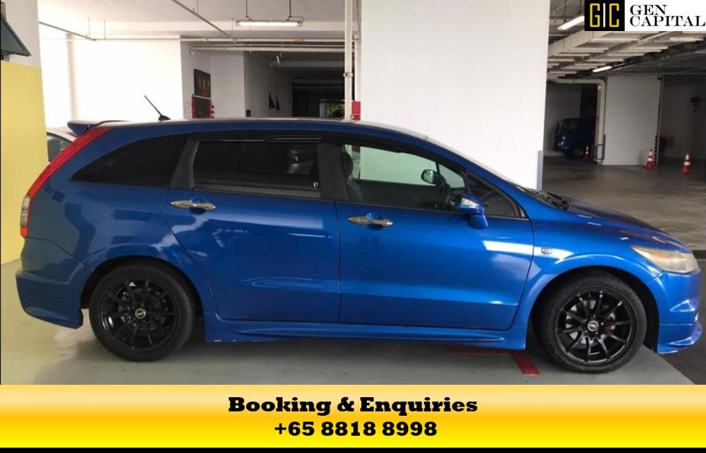Honda Stream RSZ - At 50% off Circuit Breaker Promo, the best way to commute during the covid19 outbreak, chauffeur your family in a safe and comfortable way. Whatsapp me at 8818 8998 today!