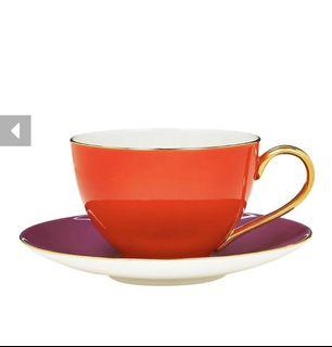 全新 Kate spade new york 彩色甜心茶杯 (亮紅)紅