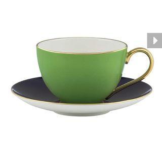 全新 Kate spade new york 彩色甜心茶杯 (鮮綠)綠
