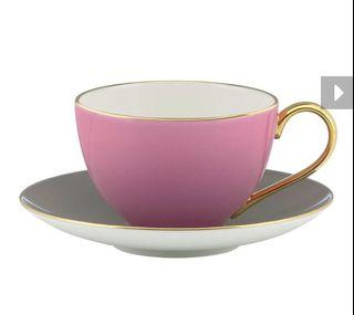 全新 Kate spade new york 彩色甜心茶杯 (藕粉)粉紅色
