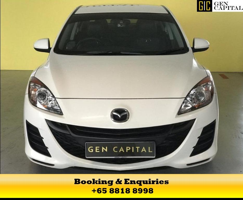 Mazda 3 - At 50% OFF CIRCUIT BREAKER, travel with a peace of mind with just $500 deposit driveaway. Whatsapp us now at 8818 8998!
