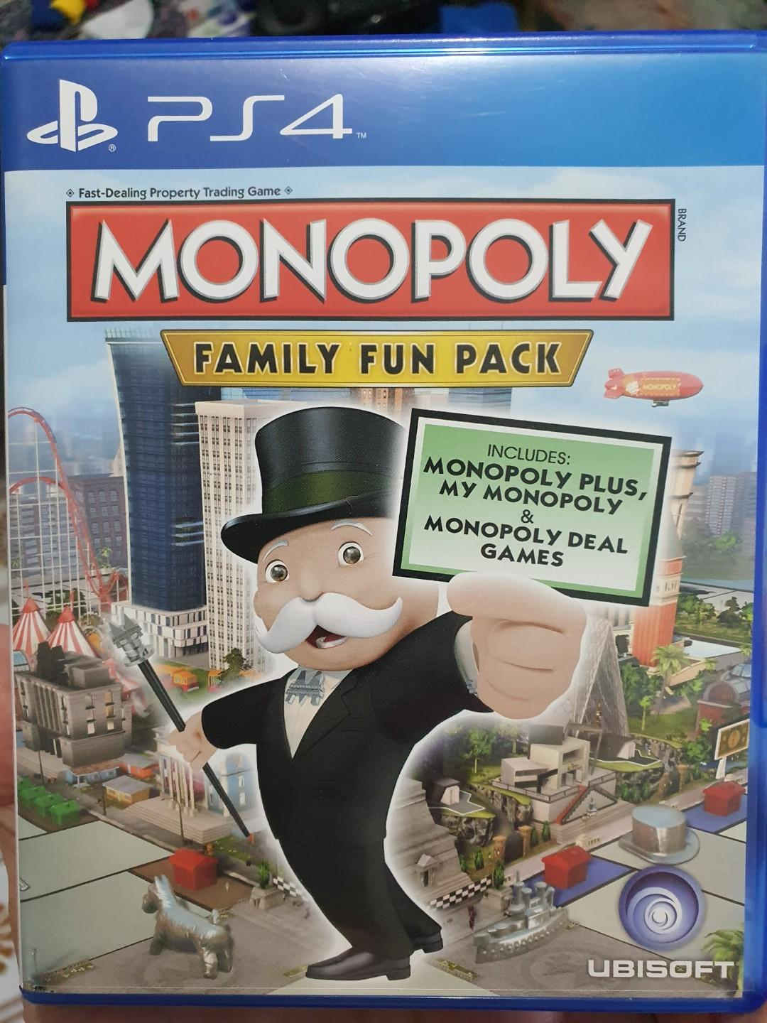Ps4 Monopoly Toys Games Video Gaming Video Games On Carousell