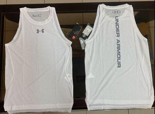 UA(男)超有型籃球內搭束衣