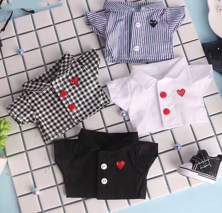 15cm/20cm doll Comme Des Garçons play heart shirt preorder