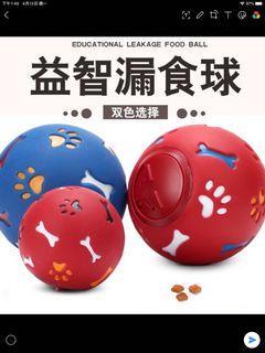 狗狗漏食益智球(藍色,大尺寸)