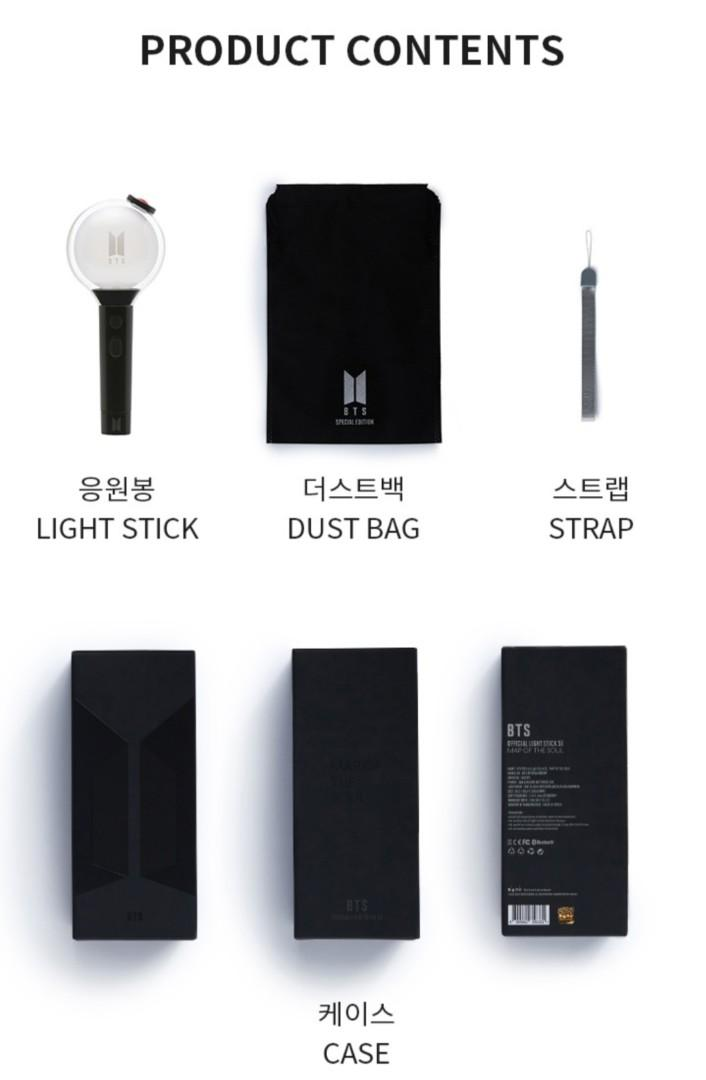 <LOOSE ITEM> BTS LIGHT STICK MAP OF THE SOUL SPECIAL EDITION