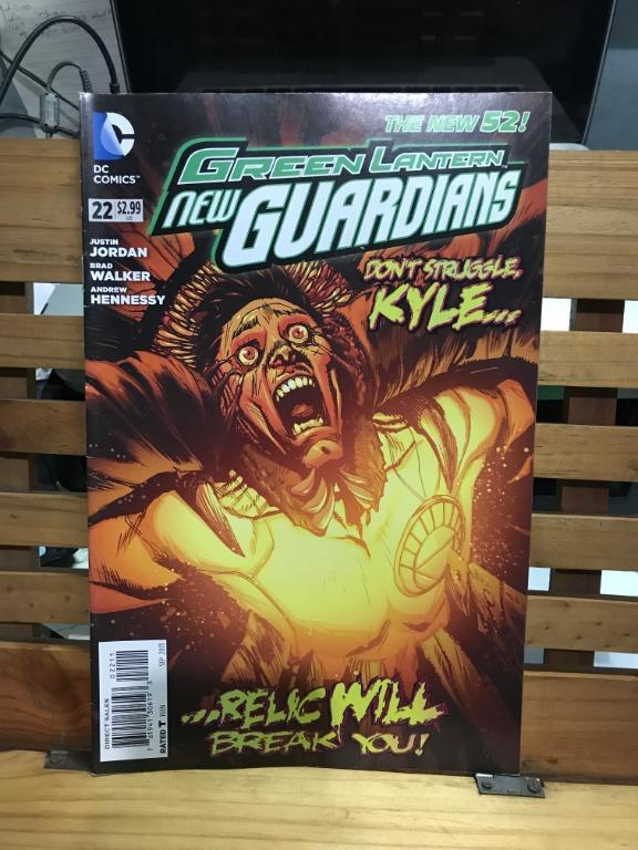 DC Comics The New 52 Green Lantern New Guardians Rise of the Third Army # 16 22