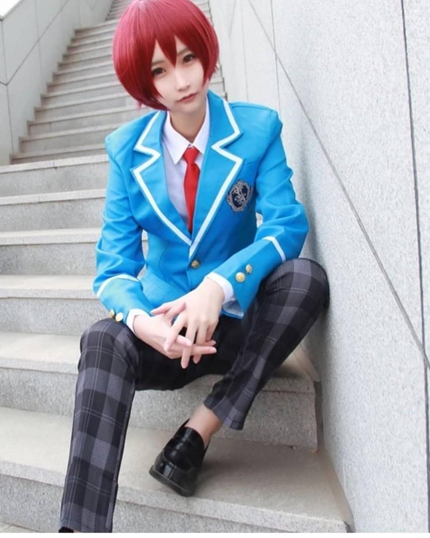 Ensemble Star Uniform (tie can choose colour) , S~XL,