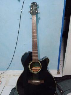 Gitar Takamine Black String Seri D