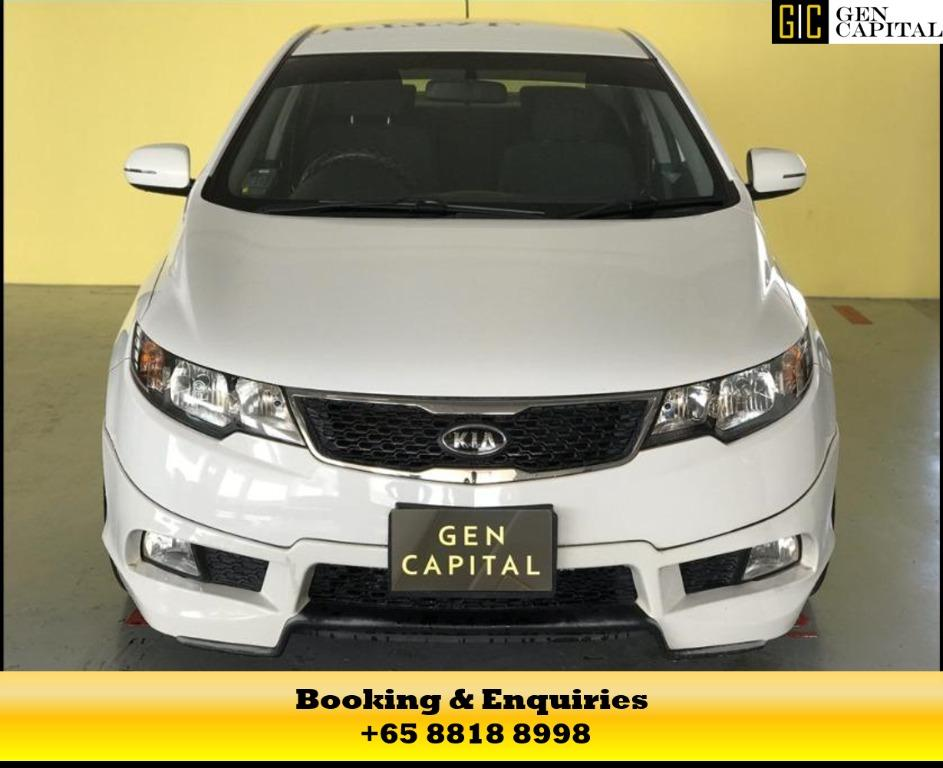 Kia Cerato (White) - 50% OFF CIRCUIT BREAKER!! Travel with a peace of mind with just $500 deposit drive away! Whatsapp us at 8818 8998! Don't missed this!