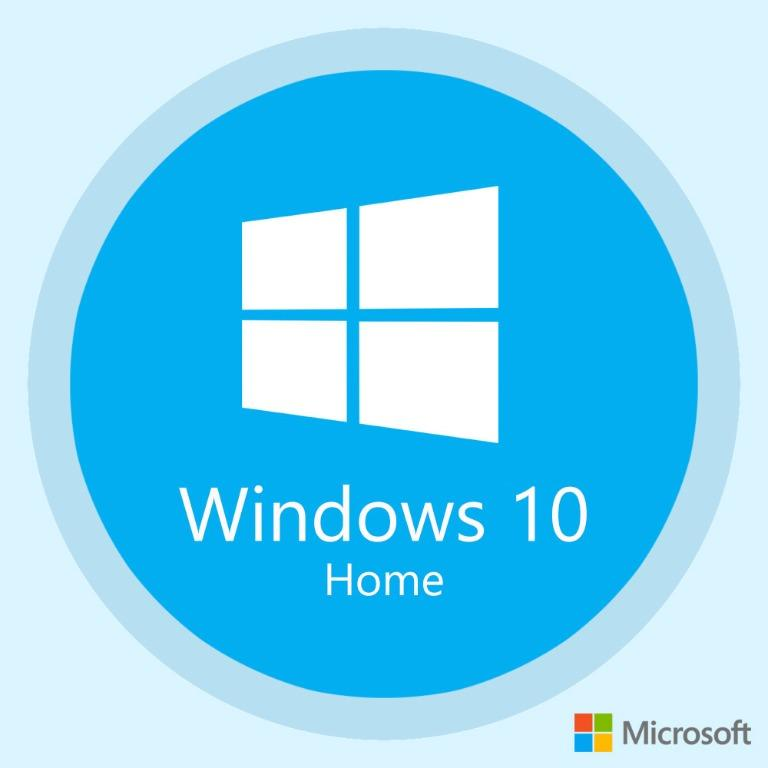 Microsoft Windows 10 Home Operating System + Activation Key