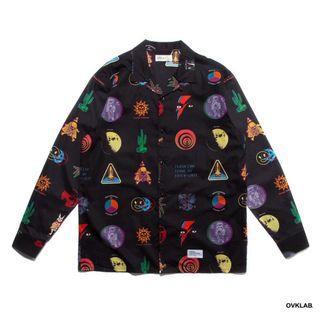 OVKLAB LSD Blotter Pattern LS 襯衫