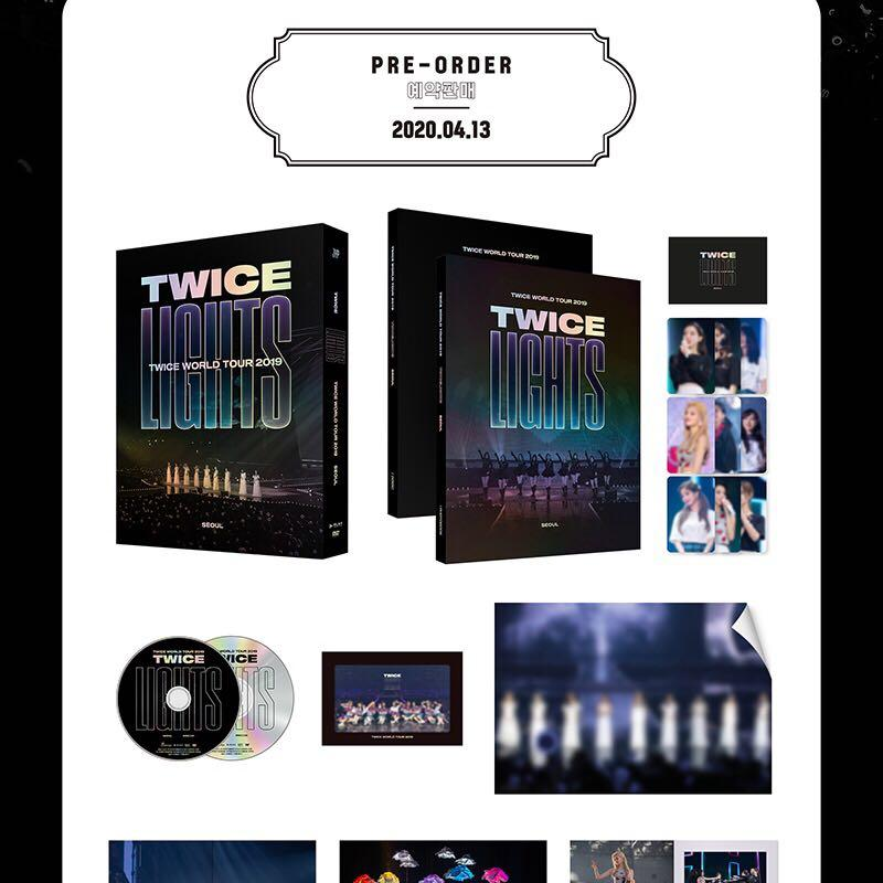 """[PREORDER] TWICE WORLD TOUR 2019 """"TWICELIGHTS"""" IN SEOUL DVD"""