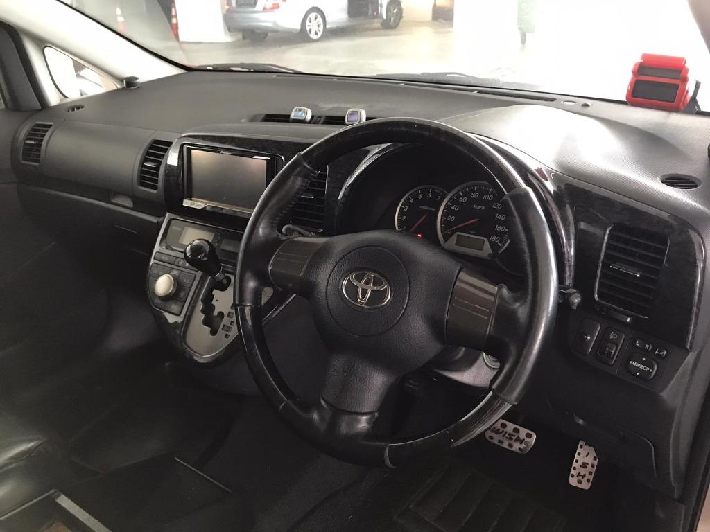 Toyota Wish  50% OFF CIRCUIT BREAKER, No Contract Required just a weeks notice upon returning of vehicle, Travel with a peace of mind with just $500 deposit driveaway. Whatsapp 8188 8616 now to enjoy special rates!!