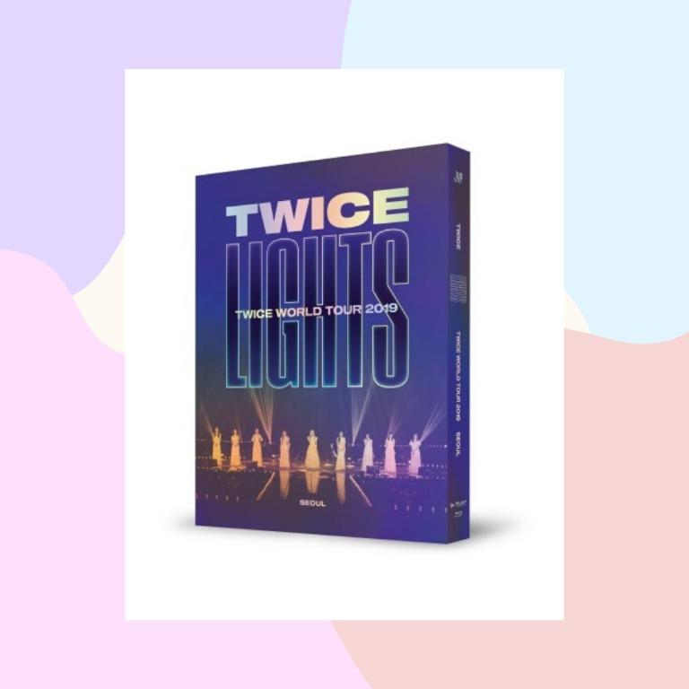 TWICE [TWICELIGHTS] World Tour 2019 in Seoul DVD (Blu-ray ver.)
