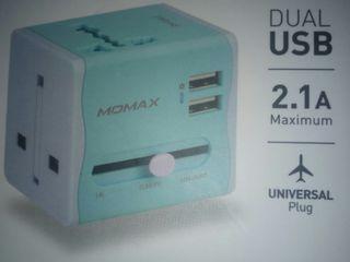 高雄市全新USB插槽世界變電充電器全世界各種的插頭與插槽皆可使用特價450元