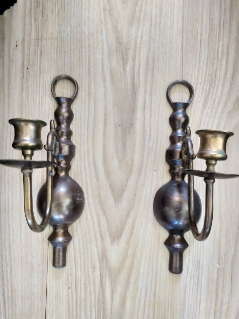 Vintage Wall Candle Holders Antiques Vintage Collectibles On Carousell