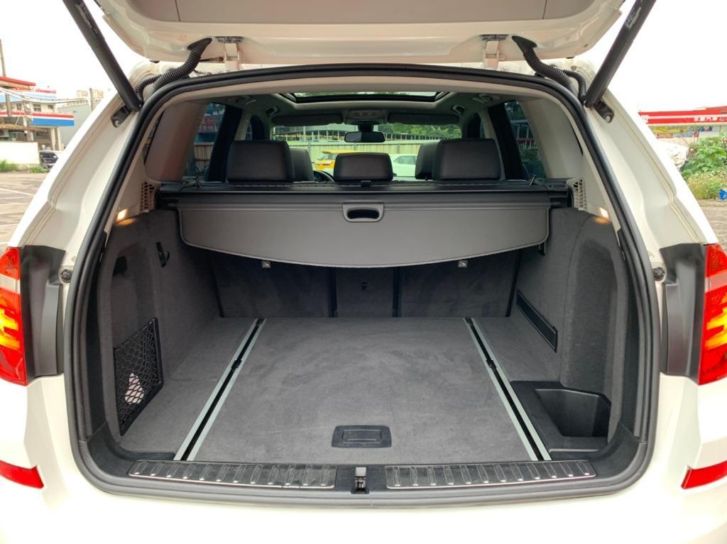 全台最便宜 實車實價 正2015 BMW X3 20d 運動 大滿配   全額貸款 找錢車 非自售 一手車