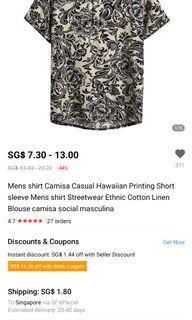 Brand new printed shirt