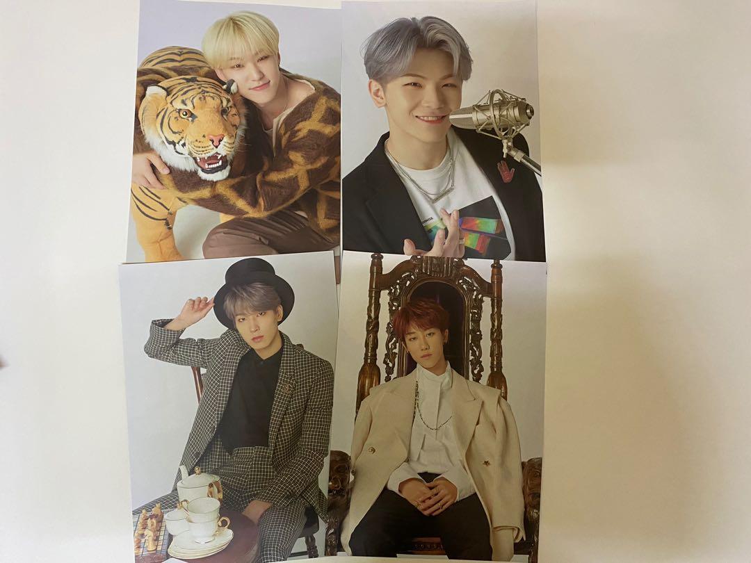 [CLEARANCE] Seventeen 2020 Season's Greetings Posters