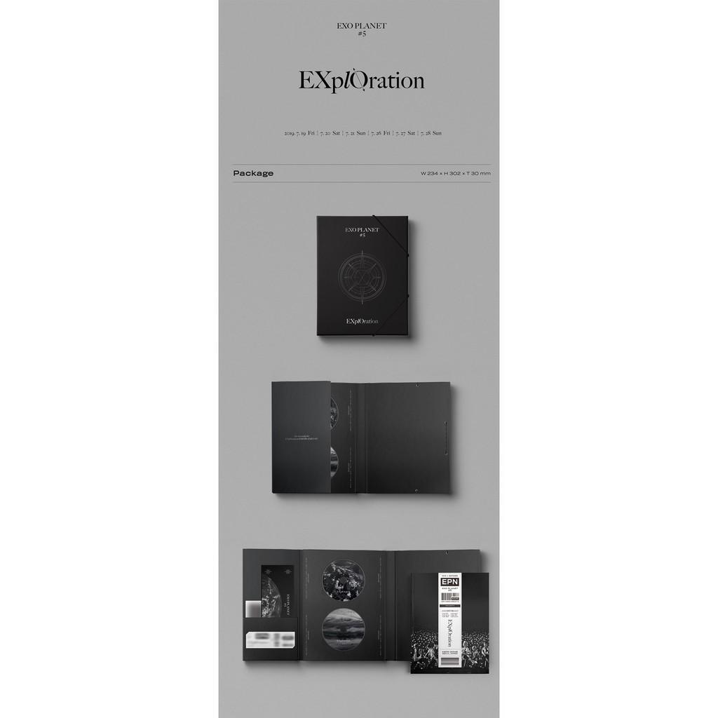 [DVD]+[Photobook] EXO - EXO PLANET #5 - EXplOration DVD + Photobook & LiveAlbum