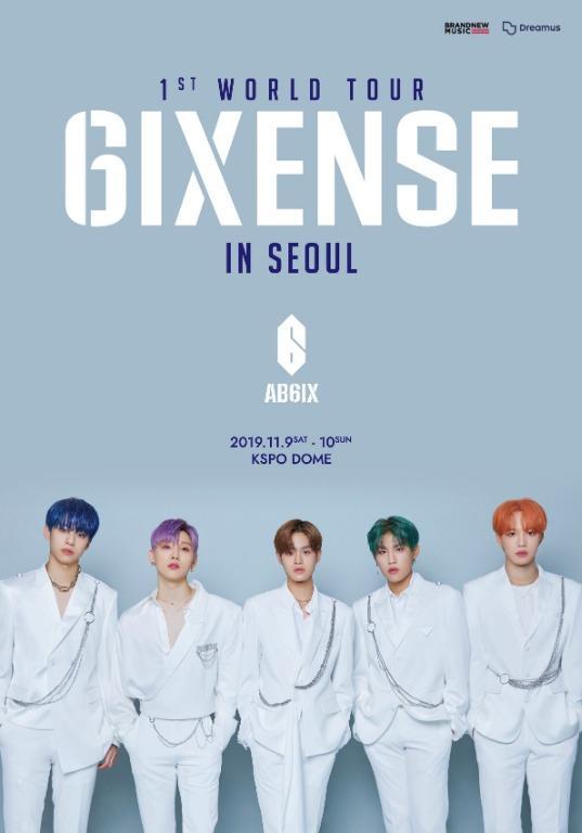 [DVD/BLURAY] AB6IX 1ST WORLD TOUR (6IXSENSE) IN SEOUL