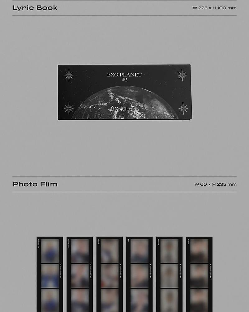 EXO - EXO PLANET #5 EXPLORATION PHOTOBOOK + LIVE ALBUM