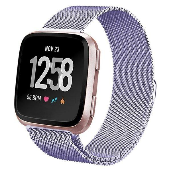 Fitbit Versa Milanese Loop Band Strap (Size Small)