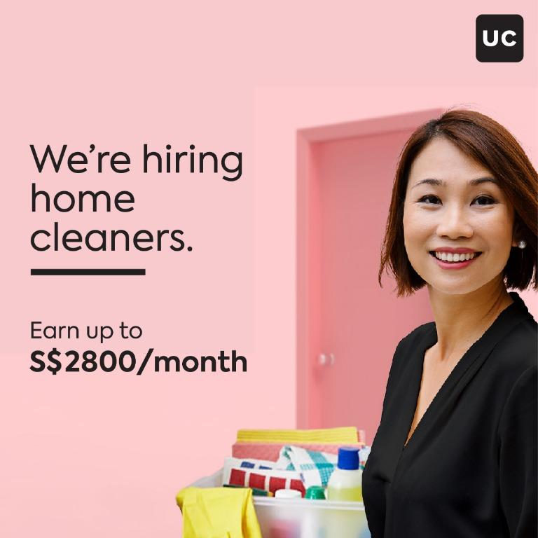 Home-Cleaning Professional (Singaporeans/PR/LTVP only)