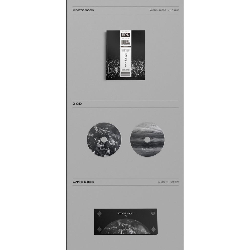 [Photobook] EXO - EXO PLANET #5 -EXplOration Photobook & LiveAlbum