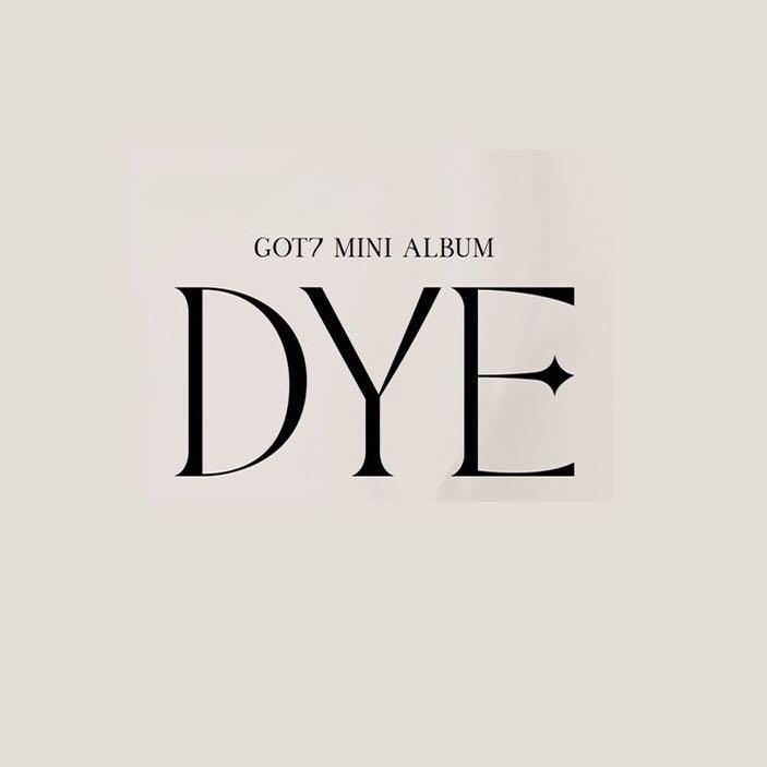 (PREORDER Benefit) GOT7 Mini Album - DYE (Random Ver.)