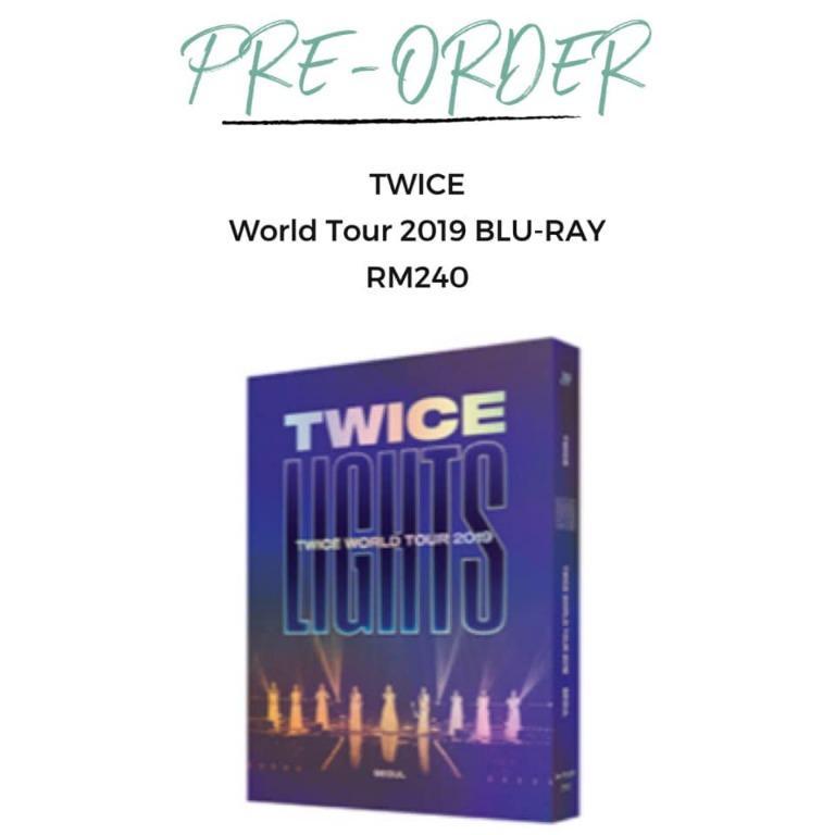 "[Pre-order] TWICE ""TWICELIGHTS"" IN SEOUL WORLD TOUR 2019 BLU-RAY"