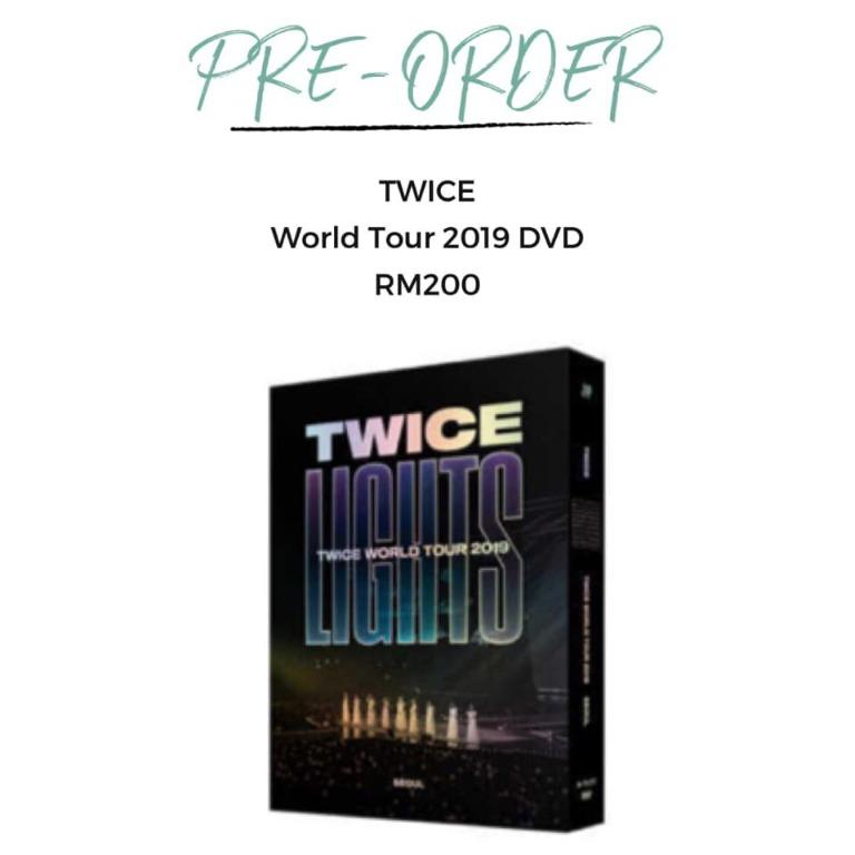 "[Pre-order] TWICE ""TWICELIGHTS"" IN SEOUL WORLD TOUR 2019 DVD"