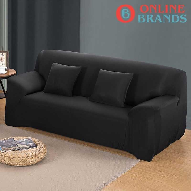 Sofa covers in solid colors, Free shipping. Online brands