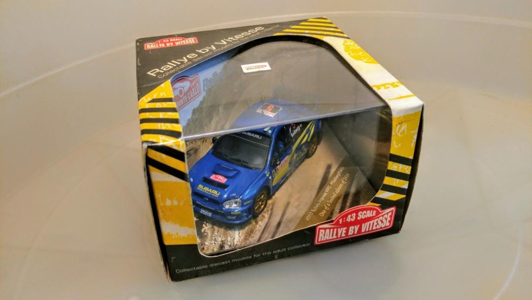 Subaru Impreza WRC Rallye Monte Carlo Manual