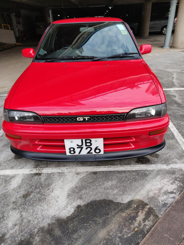 Toyota Corolla AE92 Gti Manual
