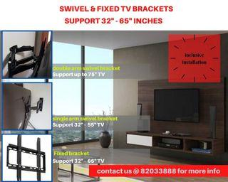 TV Bracket with Mounting