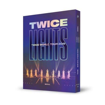 🌺TWICE🌺TWICE World Tour 2019  [TWICELIGHTS] In Seoul ( Blue-ray )