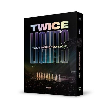 🌺TWICE🌺TWICE World Tour 2019  [TWICELIGHTS] In Seoul ( DVD )