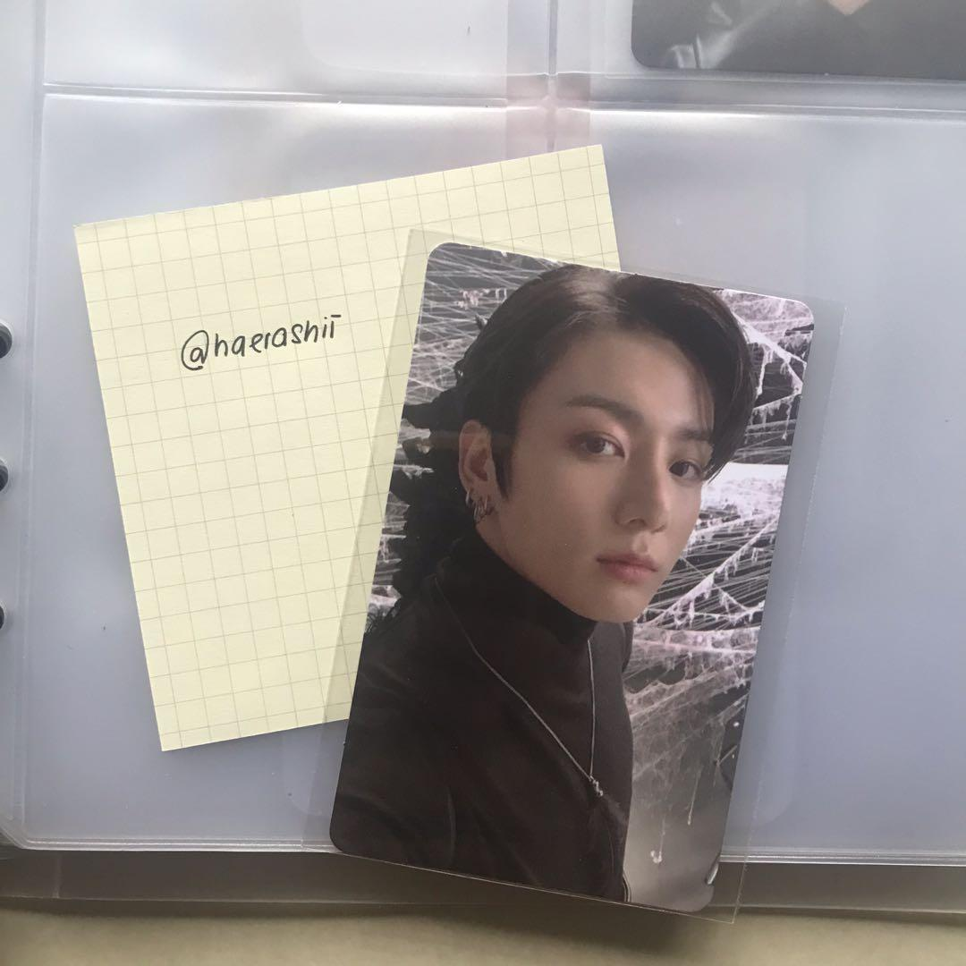 [WTS/READY STOCK] BTS JUNGKOOK MAP OF THE SOUL : 7 VERSION 2 OFFICIAL PHOTOCARD