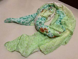 森林系絲巾披肩