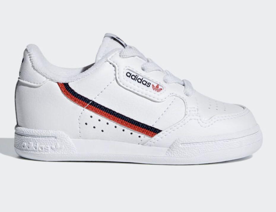 Adidas continental 80 infant/kids shoe
