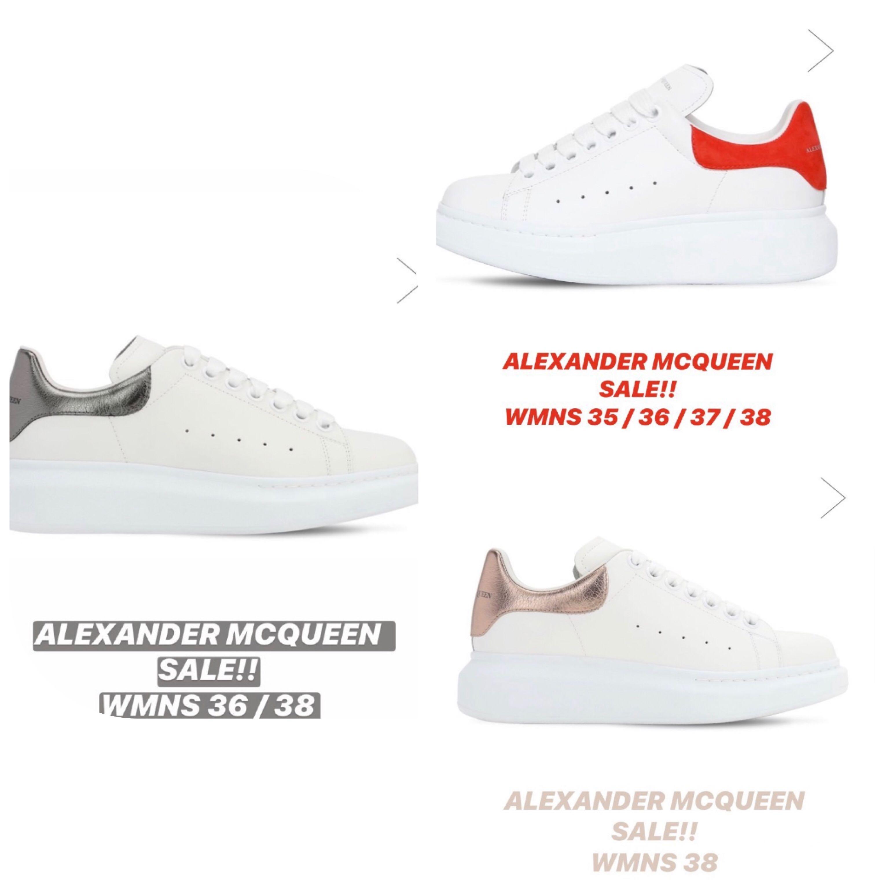 Alexander Mcqueen Sneakers Womens SALE