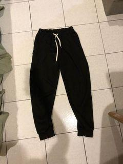 Black training/joger pants