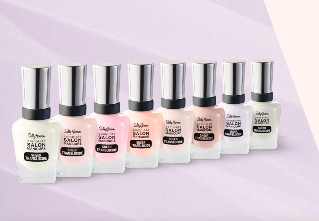 Brand New Sally Hansen & Sensational Salon Gel Polishes