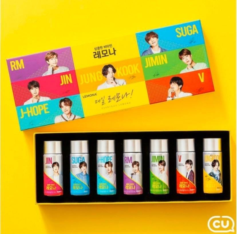 (RS) BTS LEMONA CU LIMITED EDITION DRINK (YELLOW)