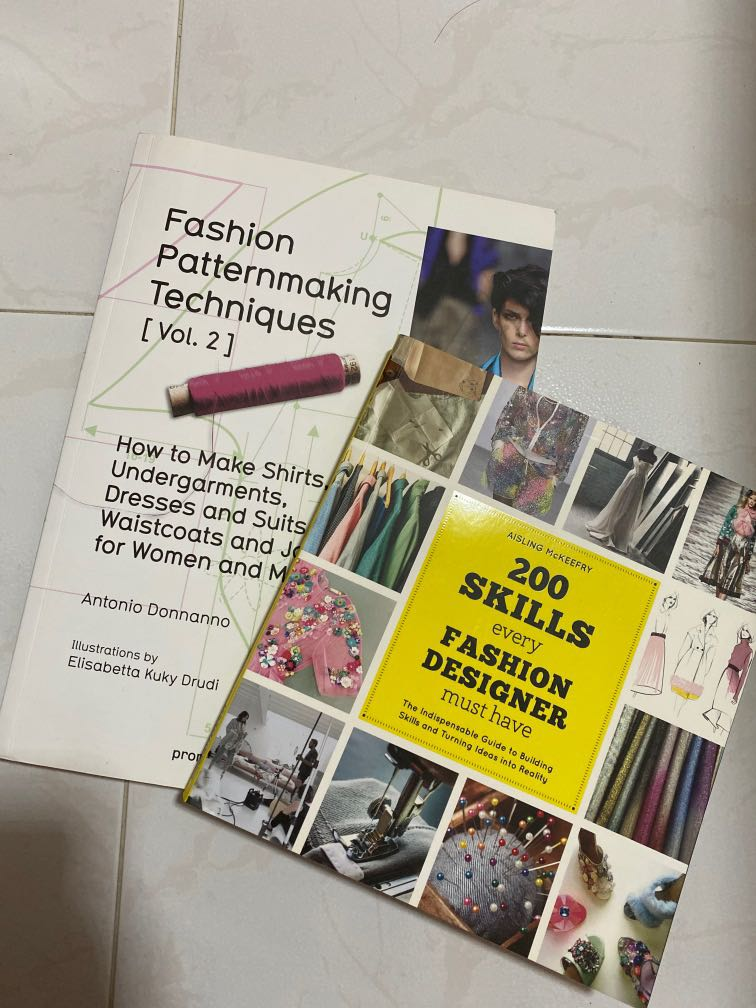 Fashion Design Book Books Stationery Textbooks Professional Studies On Carousell