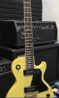 Gibson Epiphone les paul special p90 fujigen electric guitar tv yellow
